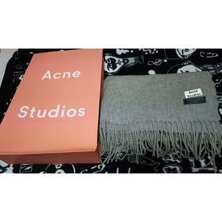 ACNE - ACNE ストゥディオズ マフラー ストール グレーメランジェ
