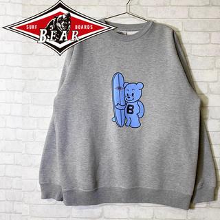 ベアー(Bear USA)のBear USA ベアー クルーネック スウェットシャツ キャラクター(スウェット)
