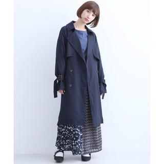 メルロー(merlot)の新品★メルロー トレンチ コート☆ジャケット 紺 プニュズ gu ジュエティ  (トレンチコート)