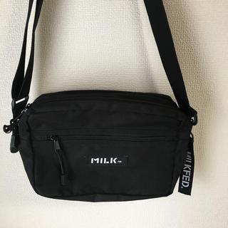 ミルクフェド(MILKFED.)のMILKFED メッセンジャーバッグ(メッセンジャーバッグ)