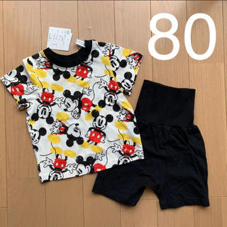 ディズニー(Disney)のDisney 寝巻き パジャマ 80(パジャマ)