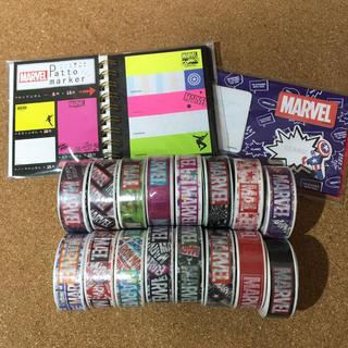 マーベル(MARVEL)のマーベル  マスキングテープ&付箋(テープ/マスキングテープ)