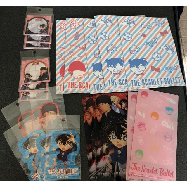 セブンイレブン限定 コナンセット エンタメ/ホビーのおもちゃ/ぬいぐるみ(キャラクターグッズ)の商品写真