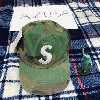 シュプリーム(Supreme)のSupreme Pigment Print S Logo 6-Panel cap(キャップ)