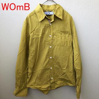 ウーム(WOmB)のWOmB ウーム コットン マスタードカラーシャツ M イエロー 長袖(シャツ)
