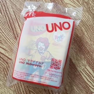 マクドナルド(マクドナルド)のマクドナルド UNO   ウノ(トランプ/UNO)