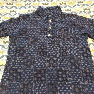 ニーム(NIMES)の半袖 パッチワークシャツ(シャツ/ブラウス(半袖/袖なし))