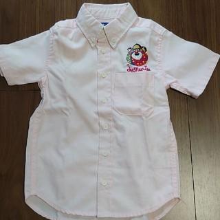ジャム(JAM)のジャム ワッペンシャツ ピンク 110cm(ブラウス)