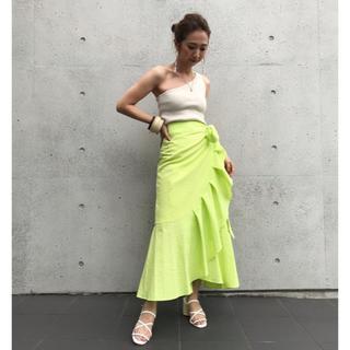 シールームリン(SeaRoomlynn)のsearoomlynn★新品フリルラップスカート(ロングスカート)