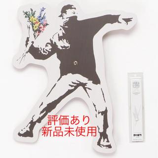 メディコムトイ(MEDICOM TOY)のSync wall clock banksy Flower Bomber(掛時計/柱時計)