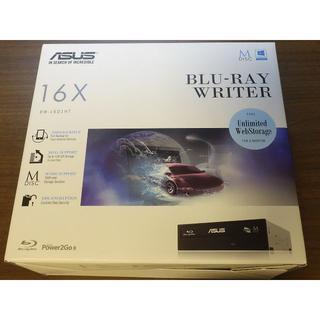 エイスース(ASUS)のASUS BW-16D1HT FW3.01 UHDフレンドリーブルーレイドライブ(PC周辺機器)