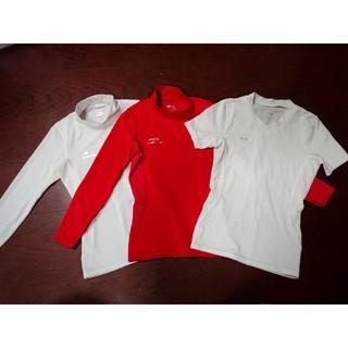 ティゴラ(TIGORA)のTIGORAサッカーアンダーインナーシャツ3点セット size120(ウェア)