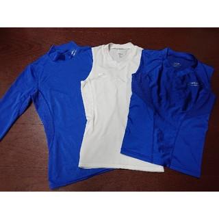 ティゴラ(TIGORA)のTIGORAサッカーアンダーインナーシャツ3点セット【おまけつき】size130(ウェア)