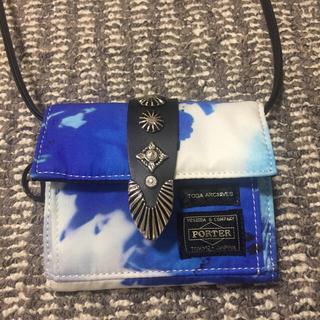 トーガ(TOGA)のTOGA×PORTER shoulder wallet(財布)
