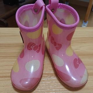 フタフタ(futafuta)のfutafuta × ハローキティ 長靴 14cm(長靴/レインシューズ)