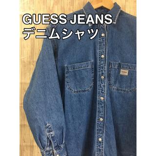 ゲス(GUESS)のGUESS JEANS デニムシャツ(シャツ/ブラウス(長袖/七分))