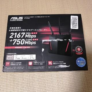 エイスース(ASUS)のASUS 高性能高速ゲーミングルータ RT-AC86U(PC周辺機器)