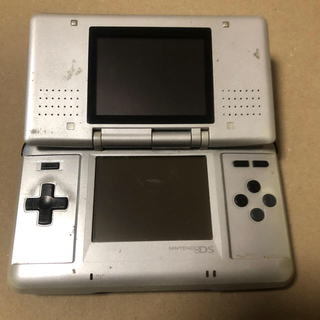 ニンテンドーDS(ニンテンドーDS)のNINTENDO DS 本体 初代 グレー(携帯用ゲーム機本体)