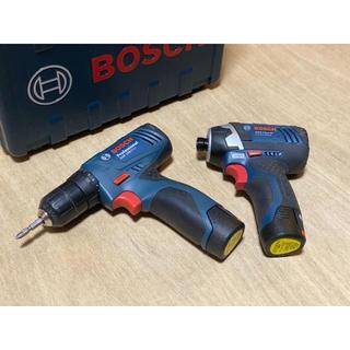 ボッシュ(BOSCH)のセット!BOSCH ドリルドライバー インパクトドライバー 10.8V DIY(工具)