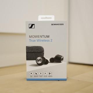 ゼンハイザー(SENNHEISER)の新同品 SENNHEISER MOMENTUM True Wireless2 黒(ヘッドフォン/イヤフォン)