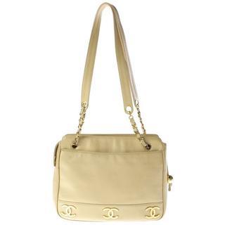 シャネル(CHANEL)のCHANELシャネル両面cocoココ6マークチェーンハンドセミショルダーバッグ鞄(ショルダーバッグ)