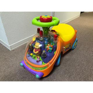 ディズニー(Disney)のくまのプーさん  ハッピーベル  足漕ぎ車  手押し車  乗り物(手押し車/カタカタ)