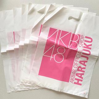 エーケービーフォーティーエイト(AKB48)のAKB48  オフィシャルショップの袋7枚セット(ショップ袋)