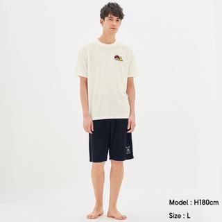 ジーユー(GU)のGU × ポケモン Sサイズ 半袖 POKEMON ICY パジャマ(その他)