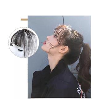 前髪ウィッグ 人毛100% 3D(前髪ウィッグ)
