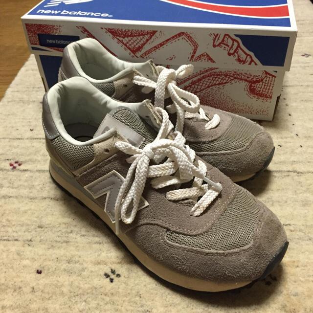 3e516df3969c0 New Balance(ニューバランス)のニューバランス574クラシックグレー レディースの靴/シューズ(