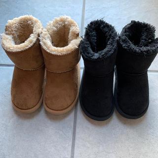 ムートンブーツ 2足セット 14cm(ブーツ)