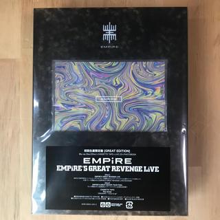 エンパイア(EMPIRE)のEMPiRE'S GREAT REVENGE LiVE 初回生産限定盤(ミュージック)