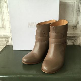 エムエムシックス(MM6)のイタリア製 MM6 エムエムシックス ブーツ USED(ブーツ)
