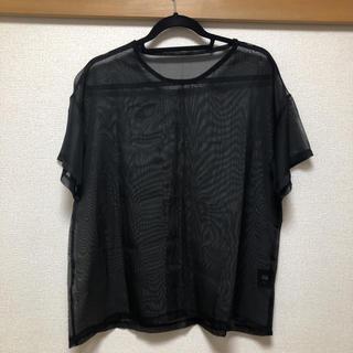 スタイルナンダ(STYLENANDA)のシースルートップス(カットソー(半袖/袖なし))