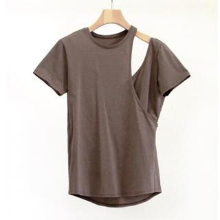 トゥデイフル(TODAYFUL)のlittele suzie アシンメトリーレイヤード Tシャツ(Tシャツ(半袖/袖なし))