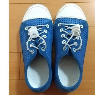 crocs - 美品!クロックス スニーカー 21センチ