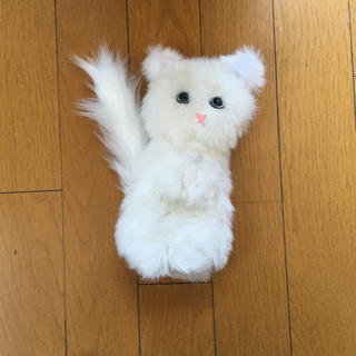 ロートセイヤク(ロート製薬)の付録 白猫ポーチ 化粧下地 スガオスノーホイップクリーム(その他)