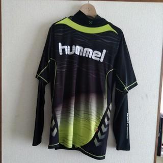ヒュンメル(hummel)のみっきー様専用 hummel長袖インナー付き半袖Tシャツ2枚セット Lサイズ(Tシャツ/カットソー(半袖/袖なし))
