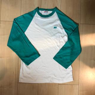 ナイキ(NIKE)の1970s NIKE ラグランTシャツ オレンジタグ ビンテージ(Tシャツ(長袖/七分))