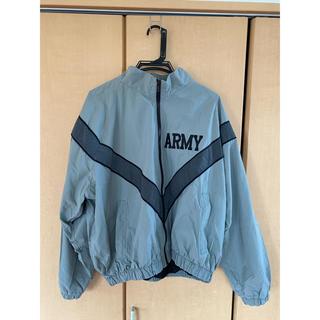 ピースマイナスワン(PEACEMINUSONE)のu.s.army トレーニングジャケット(ナイロンジャケット)