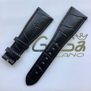 ガガミラノ(GaGa MILANO)の新品 GaGa MILANO ガガミラノバンド 交換 48ミリ用レザーベルト 黒(レザーベルト)