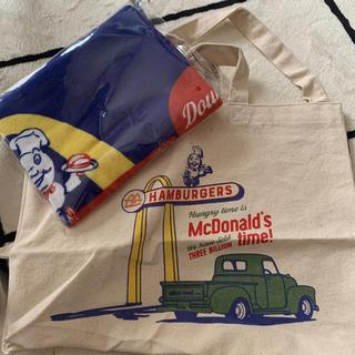 マクドナルド - マクドナルド 福袋トートバッグ &タオル