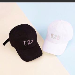 シャイニー(SHINee)の新品 SHINee 9th 9周年記念グッズ 525キャップ 黒 帽子(アイドルグッズ)