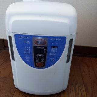 三菱電機 - 三菱マイナスイオン加湿器