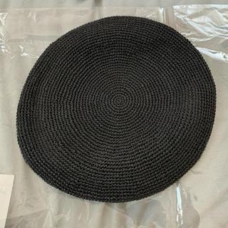 ローリーズファーム(LOWRYS FARM)のローリーズファームベレー帽 ブラック(ハンチング/ベレー帽)