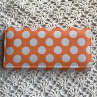 オレンジの長財布(長財布)