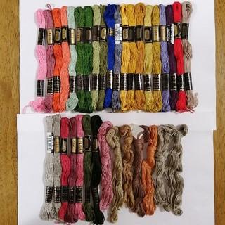 オリンパス(OLYMPUS)の刺繍糸 OLYMPUS★35本★set  オリムパス 25番 刺しゅう糸(生地/糸)