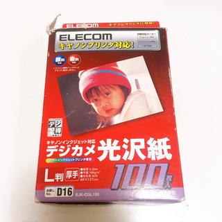 エレコム(ELECOM)のELECOM インクジェット光沢紙 L版 90枚(その他)