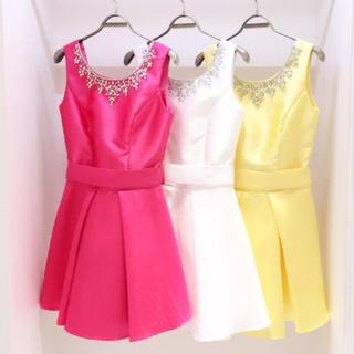エミリアウィズ(EmiriaWiz)のEmiriaWiz ビジューワンピース ドレス(ミニドレス)