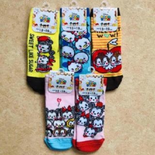 フクスケ(fukuske)の【新品】13〜19 ディズニー 靴下 セット(靴下/タイツ)